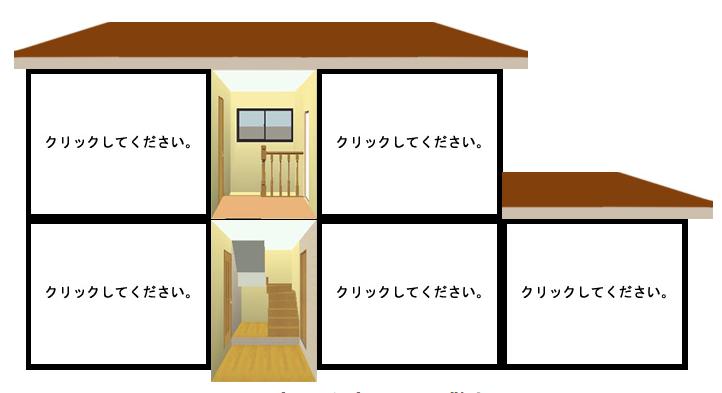 入力値に応じた家屋構造が表示されます。